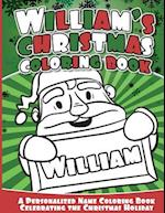 William's Christmas Coloring Book