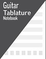Guitar Tablature Notebook