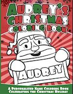 Audrey's Christmas Coloring Book