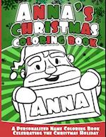 Anna's Christmas Coloring Book