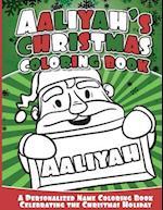 Aaliyah's Christmas Coloring Book