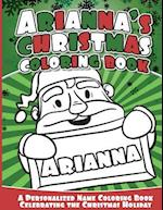 Arianna's Christmas Coloring Book