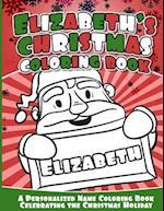 Elizabeth's Christmas Coloring Book