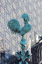 Rooster on the Spire of St Vitis Cathedral Prague Czechoslovia Journal