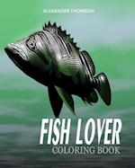 Fish Lover Coloring Book