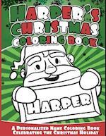 Harper's Christmas Coloring Book