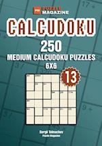 Calcudoku - 250 Medium Puzzles 6x6 (Volume 13)