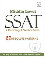 SSAT 9 Reading & Verbal Tests