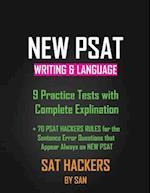 New PSAT Writing & Language 9 Practice Tests