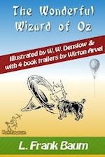 The Wonderful Wizard of Oz (with 4 Book Trailers)