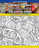 Oakland Raiders 2016 Offense Coloring Book