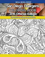 San Diego Chargers 2016 Offense Coloring Book