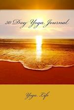 30 Day Yoga Journal