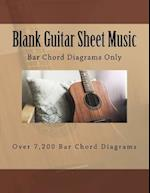 Blank Guitar Sheet Music
