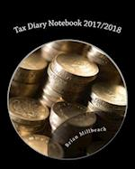 Tax Diary Notebook 2017/2018