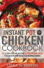Instant Pot Chicken Cookbook