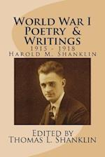 World War I Poetry and Writings