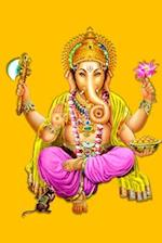 Gold Ganesha Journal (Diary, Notebook)