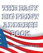 The Easy Big Print Address Book
