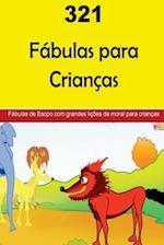 321 Children's Fables (Portuguese)