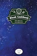 Blank Cookbook Journal
