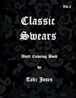 Classic Swears Adult Coloring Book