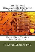 International Baccalaureate Computer Science Hl & SL