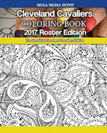Cleveland Cavaliers 2017 Roster Coloring Book