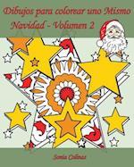 Dibujos Para Colorear Uno Mismo - Navidad - Volumen 2