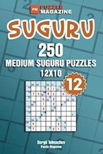 Suguru - 250 Medium Suguru Puzzles 12x10 (Volume 12)