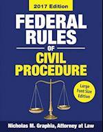 Federal Rules of Civil Procedure 2017, Large Font Edition