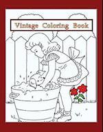 Vintage Coloring Book