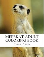 Meerkat Adult Coloring Book