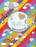Maya's Rainbow Creativity & Coloring Book