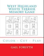 West Highland White Terrier Memory Game