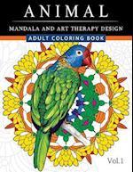 Animal Mandala and Art Therapy Design
