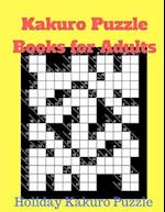 Kakuro Puzzle Books for Adults