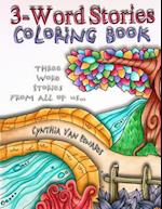 3-Word Stories Coloring Book