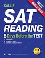 Kallis' SAT Reading - 6 Days Before the Test