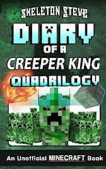 Minecraft Diary of a Creeper King Quadrilogy af Skeleton Steve