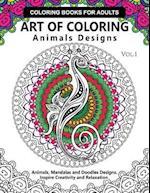 Art of Coloring Animals Design