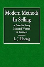 Modern Methods in Selling
