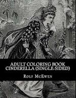 Adult Coloring Book - Cinderella (Single-Sided)
