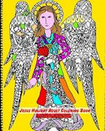 Jesus Holiday Adult Coloring Book
