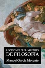Lecciones Preliminares de Filosofia af Manuel Garcia Morente