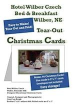 Hotel Wilber Czech Bed & Breakfast Tear Out 44 Christmas Cards