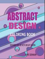 Abstract Design Coloring Book