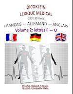 Dicoklein Lexique Medical Vol.2