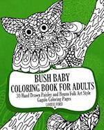 Bush Baby Coloring Book for Adults
