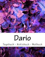 Dario - Tagebuch - Notizbuch - Malbuch